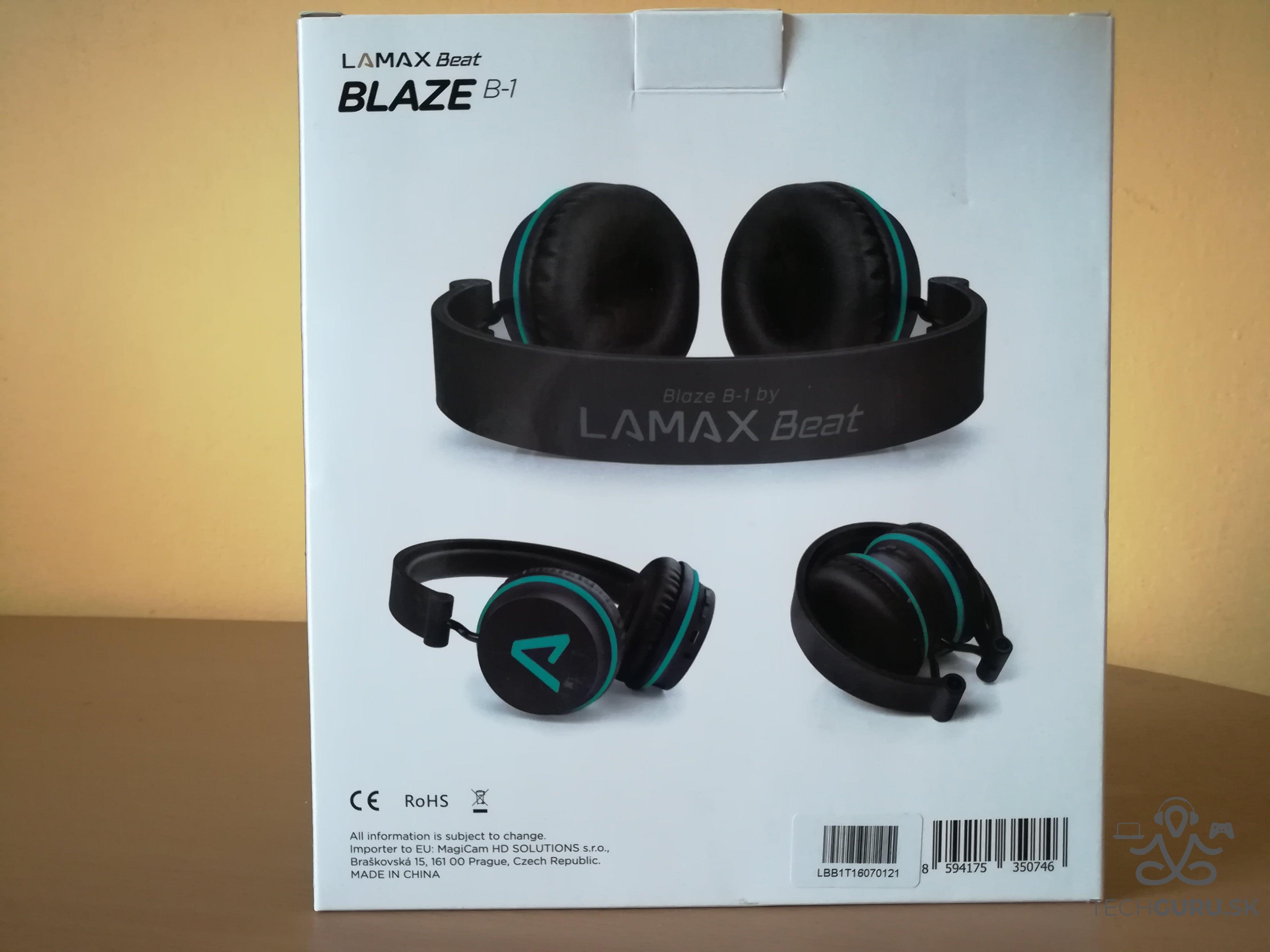 Slúchadlá Lamax Beat Blaze B-1