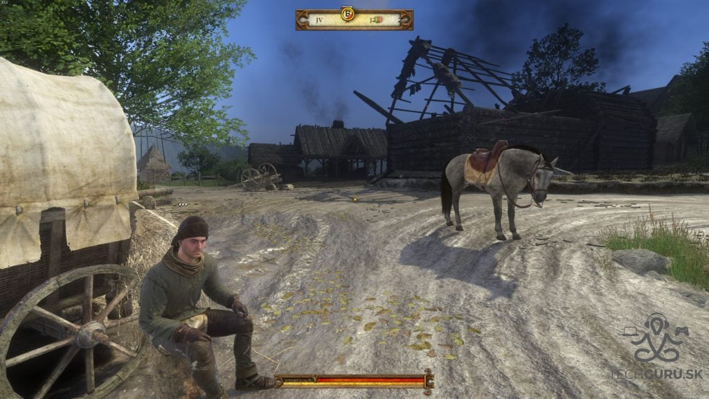 Kingdom Come na rôznych PC Nízke