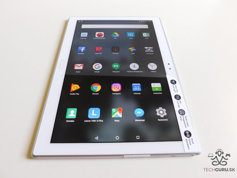 6a1c86f31 Lenovo TAB4 10 Plus recenzia tabletu - TechGuru.sk