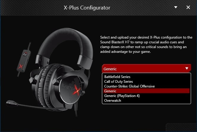 Creative Sound BlasterX H7 Tournament Edition x-plus_configurator