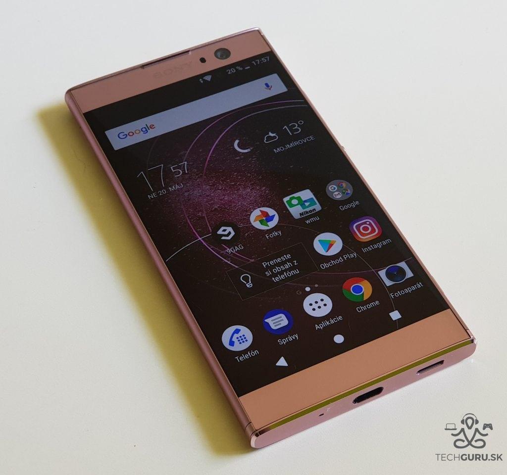 Sony Xperia XA2 recenzia 01