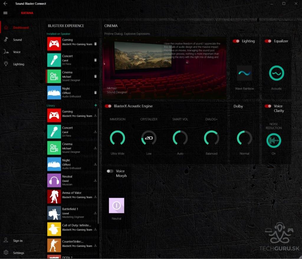 CreativeSound Blaster Connect 02