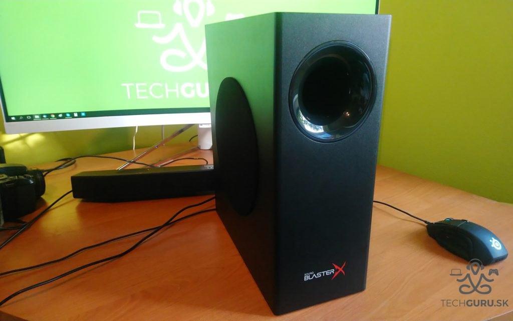 Creative Sound BlasterX Katana subwoofer