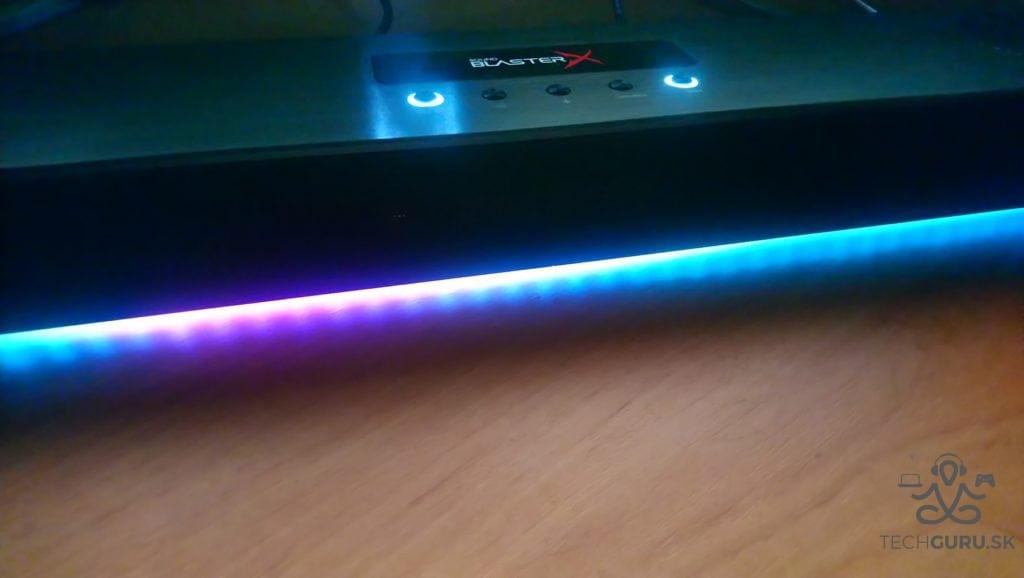 Creative Sound BlasterX Katana recenzia 09