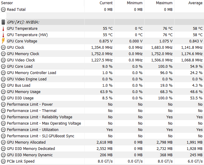 Asus FX503V recenzia GPU teplota