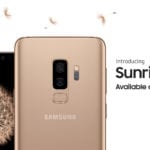 Samsung Galasy S9+ Sunrise Gold