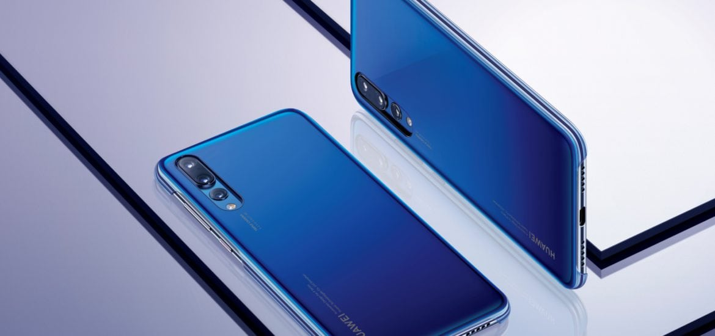 Huawei P20 pro _blue case