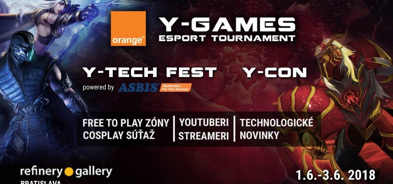 Orange Y-Games 2018 titulka