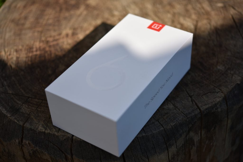 Balenie OnePlus 6