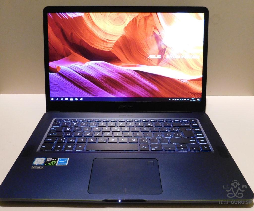 ZenBook Pro UX550V recenzia