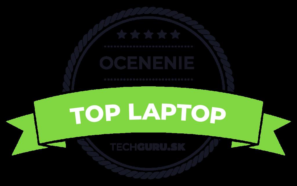 Ocenenie TechGuru TOP laptop