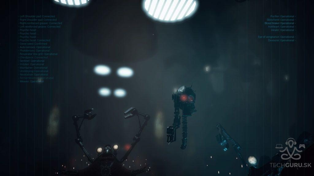 Space hulk robot