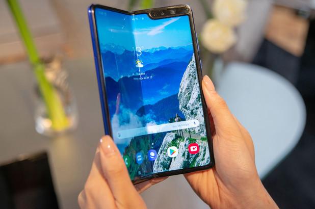 Samsung Galaxy Fold titulka