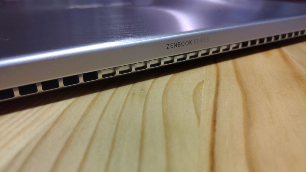 Asus ZenBook 14 chladenie