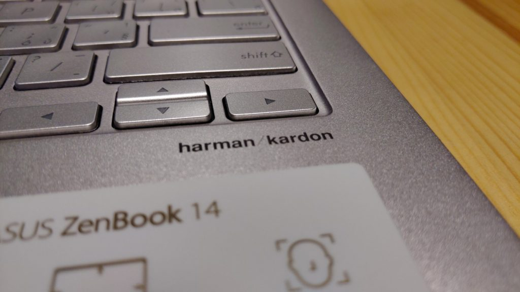 Asus ZenBook 14 harman kardon audio