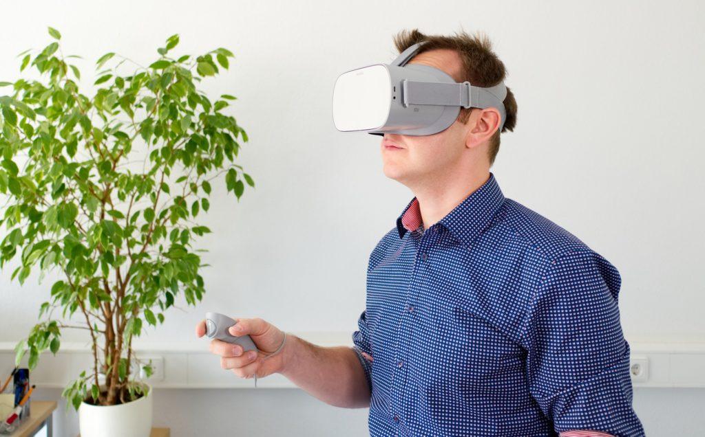 Virtuálna realita 2020 standalone headset VR