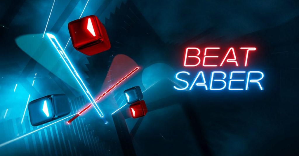 Virtuálna realita 2020 Beat Saber