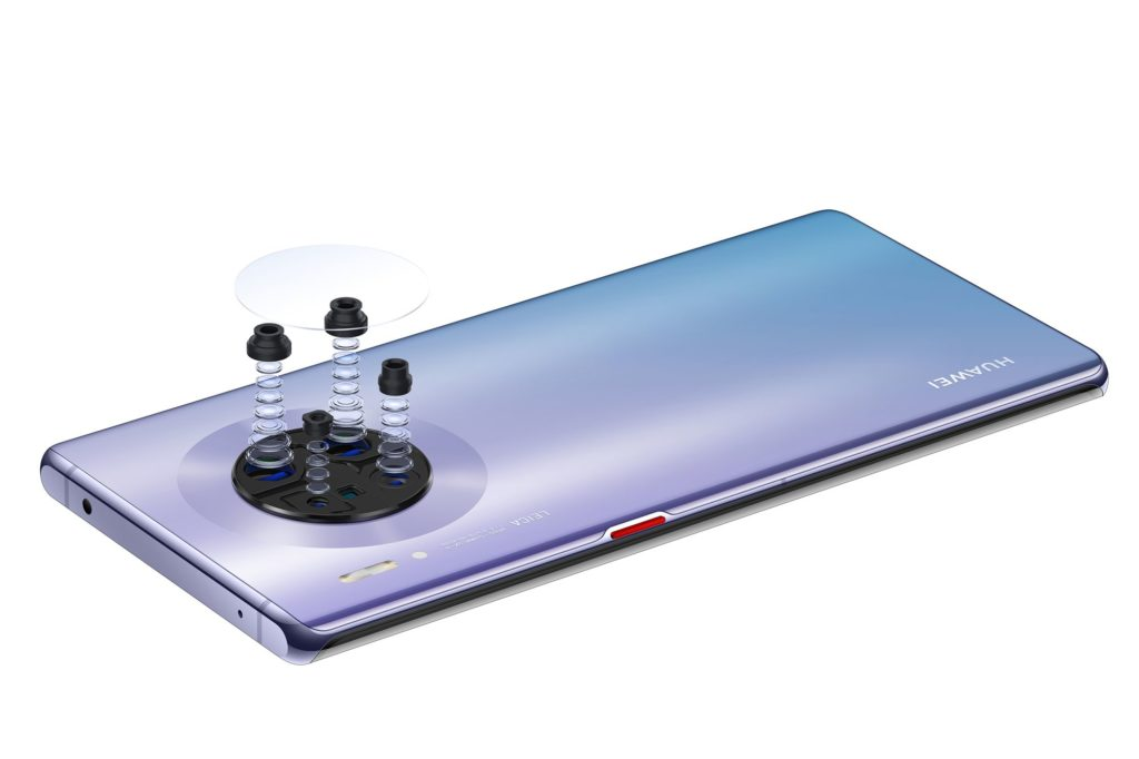 Huawei Mate 30 Pro objektívy
