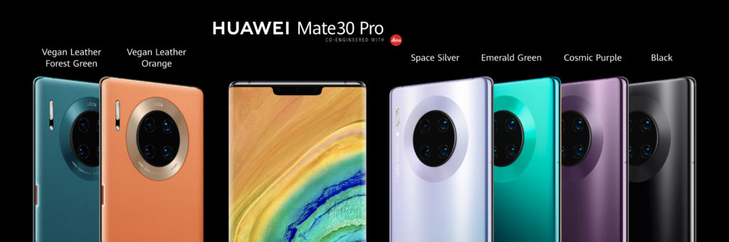 Huawei Mate 30 Pro farby