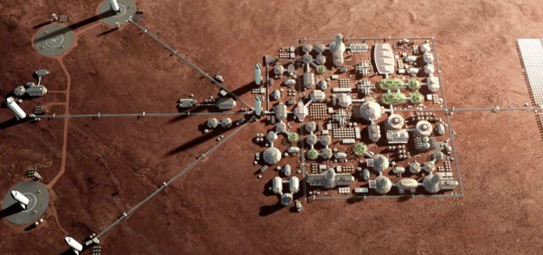 Mesto budúcnosti na Marse