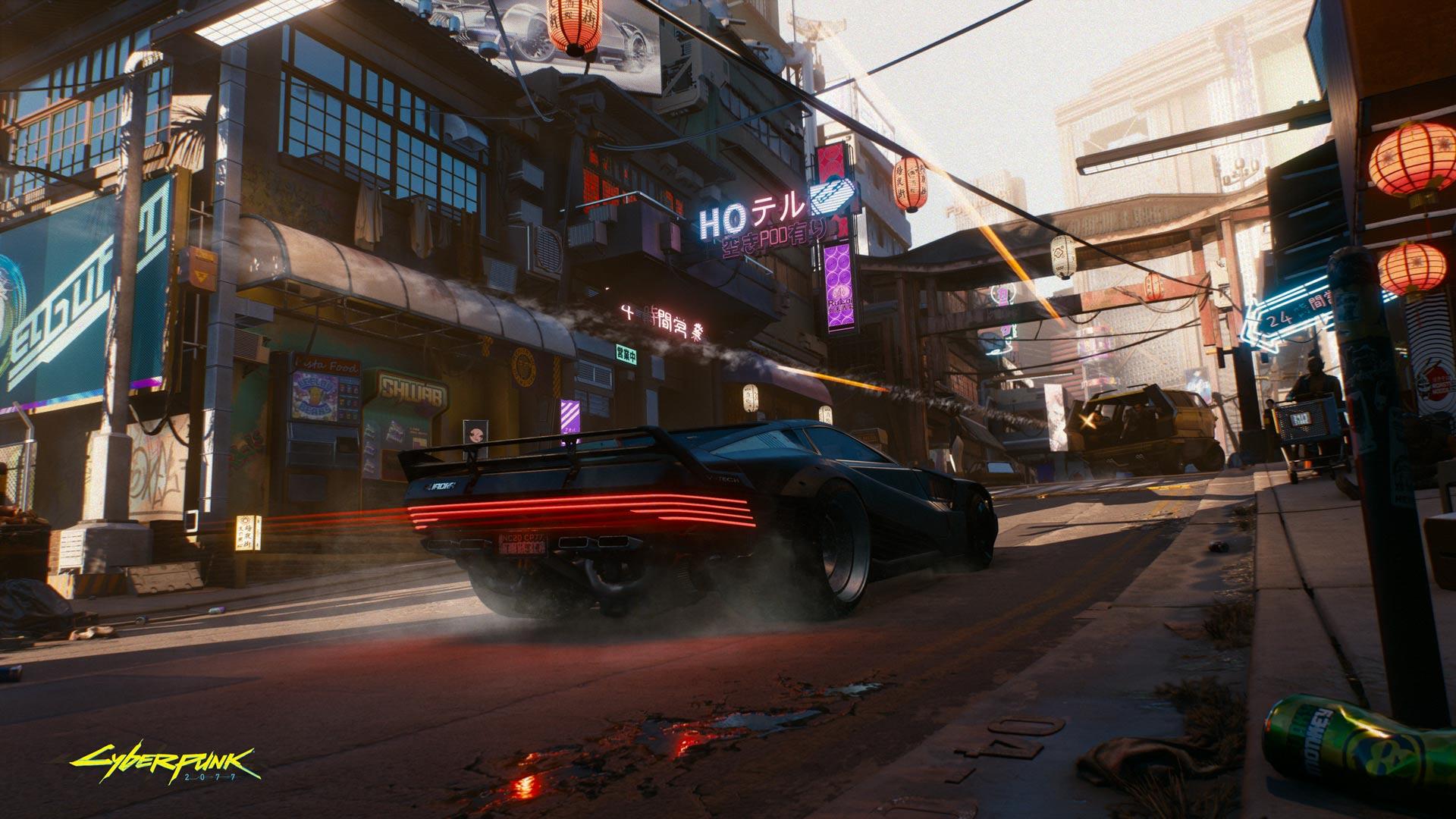 Cyberpunk 2077: Cyberpunk transport