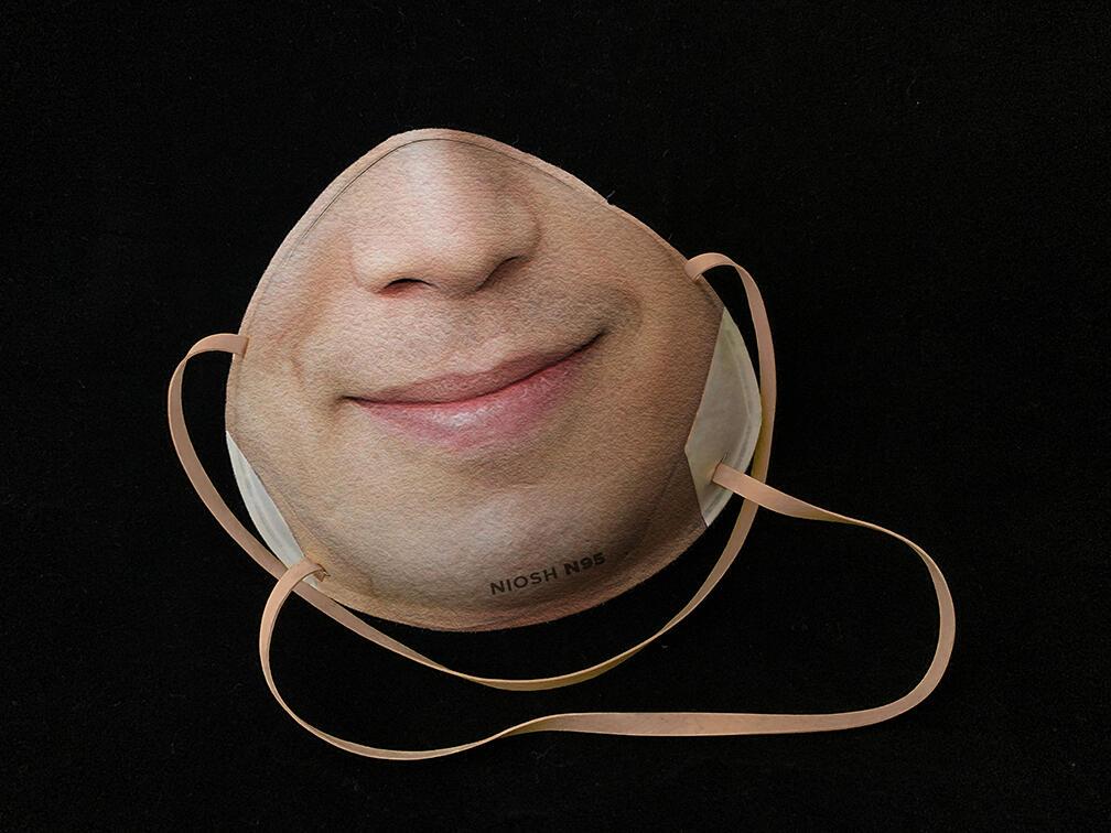 Firma vytlačí vašu tvár na respirátor na odomknutie telefónu