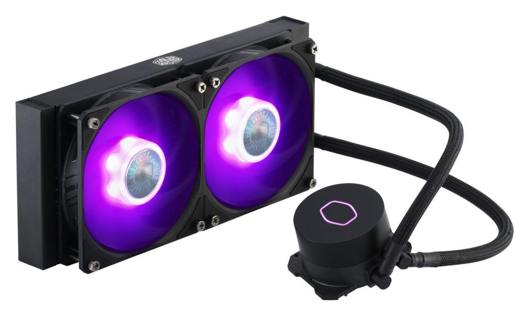 AIO chlazení MasterLiquid ML120L/240L RGB 01