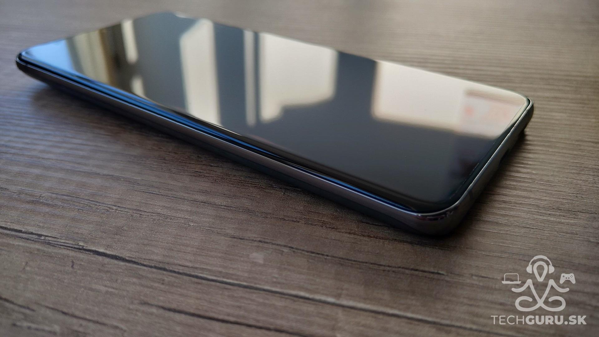 Samsung Galaxy S20 Ultra 5G recenzia - pohľad zboku
