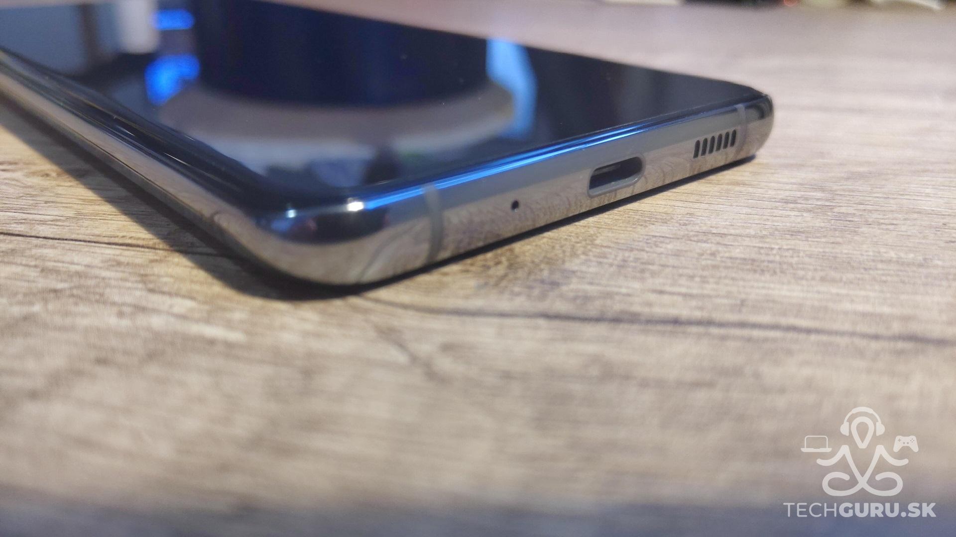 Samsung Galaxy S20 Ultra 5G recenzia spodná časť