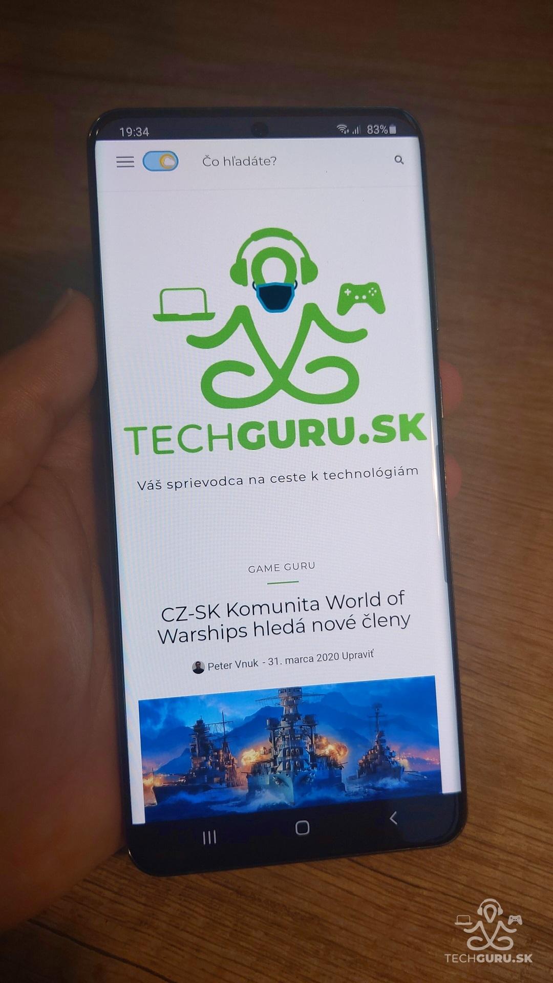 Samsung Galaxy S20 Ultra 5G recenzia