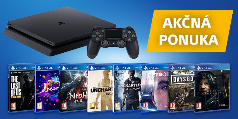 Playstation 4 výhodné balíky titulka