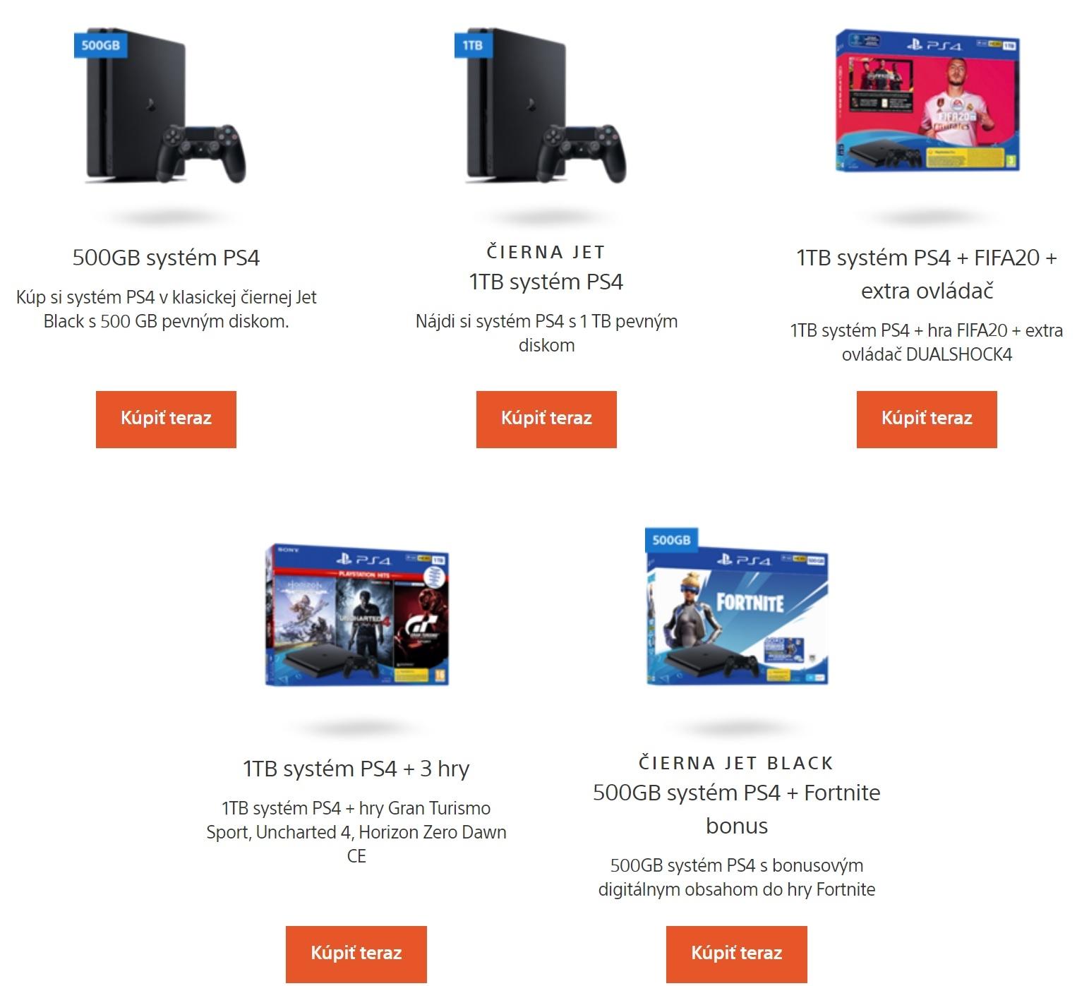 Playstation 4 možno teraz kúpiť vo výhodných balíkoch