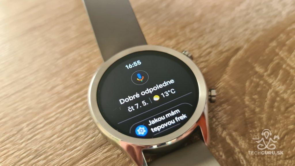 Smart hodinky TicWatch C2 Google asistent