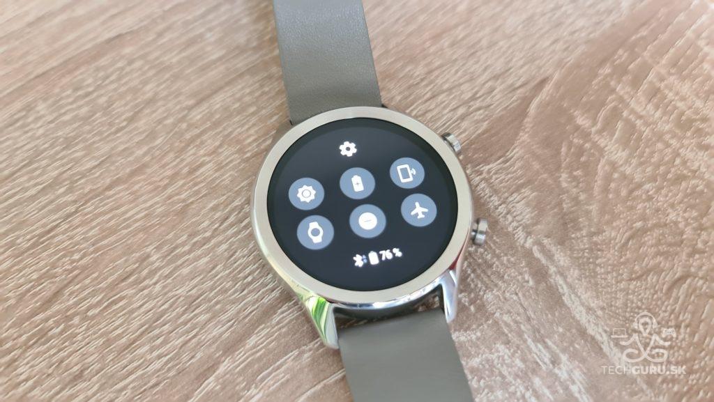 Základní nastavení Smart hodinky TicWatch C2