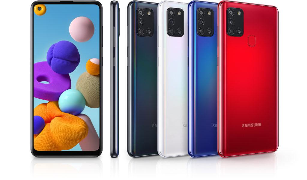 Řada Samsung Galaxy A se rozrůstá o model Galaxy A21s barvy