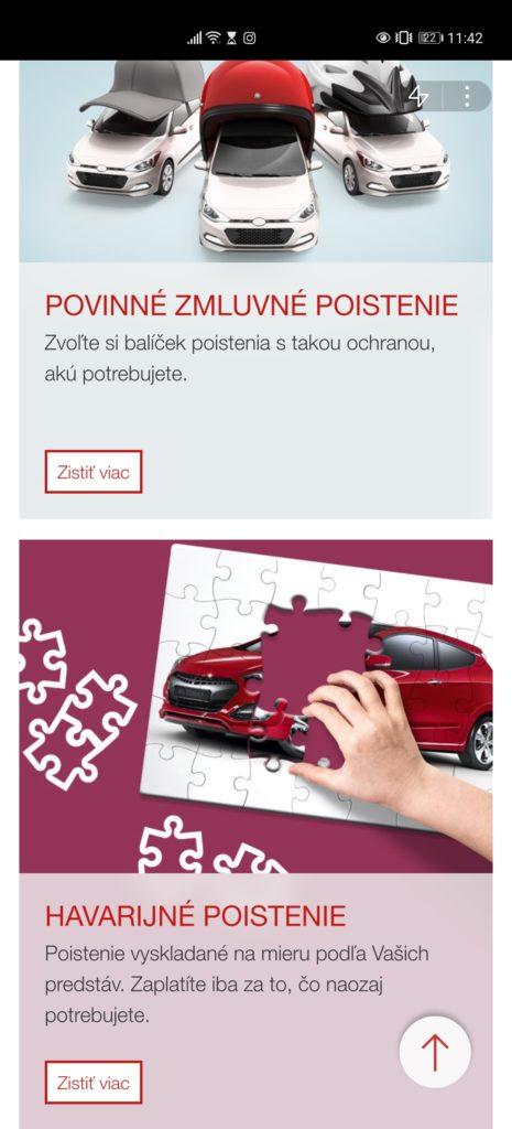 Prvou slovenskou Quick App v Huawei AppGallery je Generali 01
