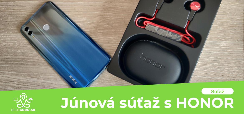 Junova sutaz s HONOR TechGuru.sk