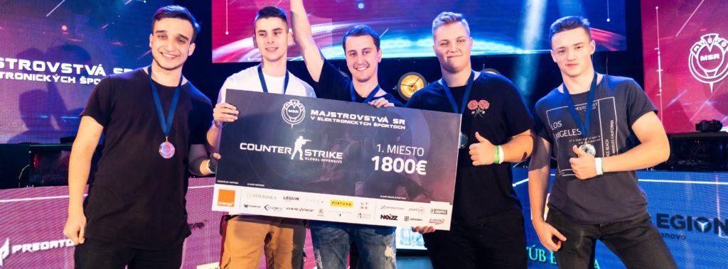 Orange Majstrovstvá Slovenska v e-športoch v Nitre