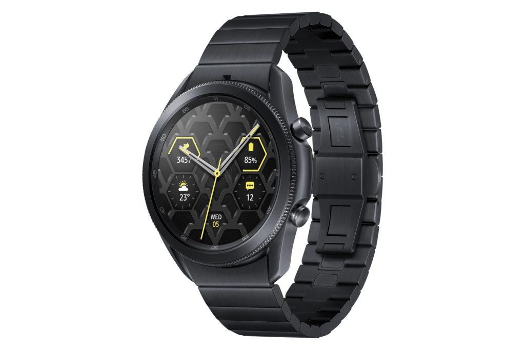 Samsung Galaxy Watch3 Titanium - luxus a odolnosť