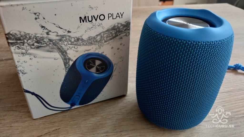 Creative Muvo Play - recenzia bluetooth reproduktora