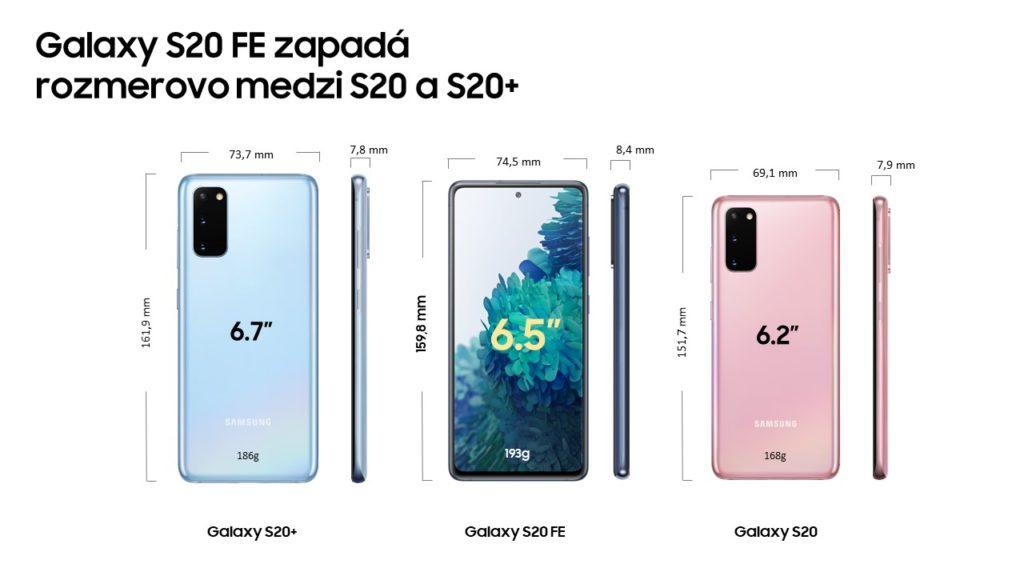 Samsung Galaxy S20 FE: výkonný smartfón pre mladých