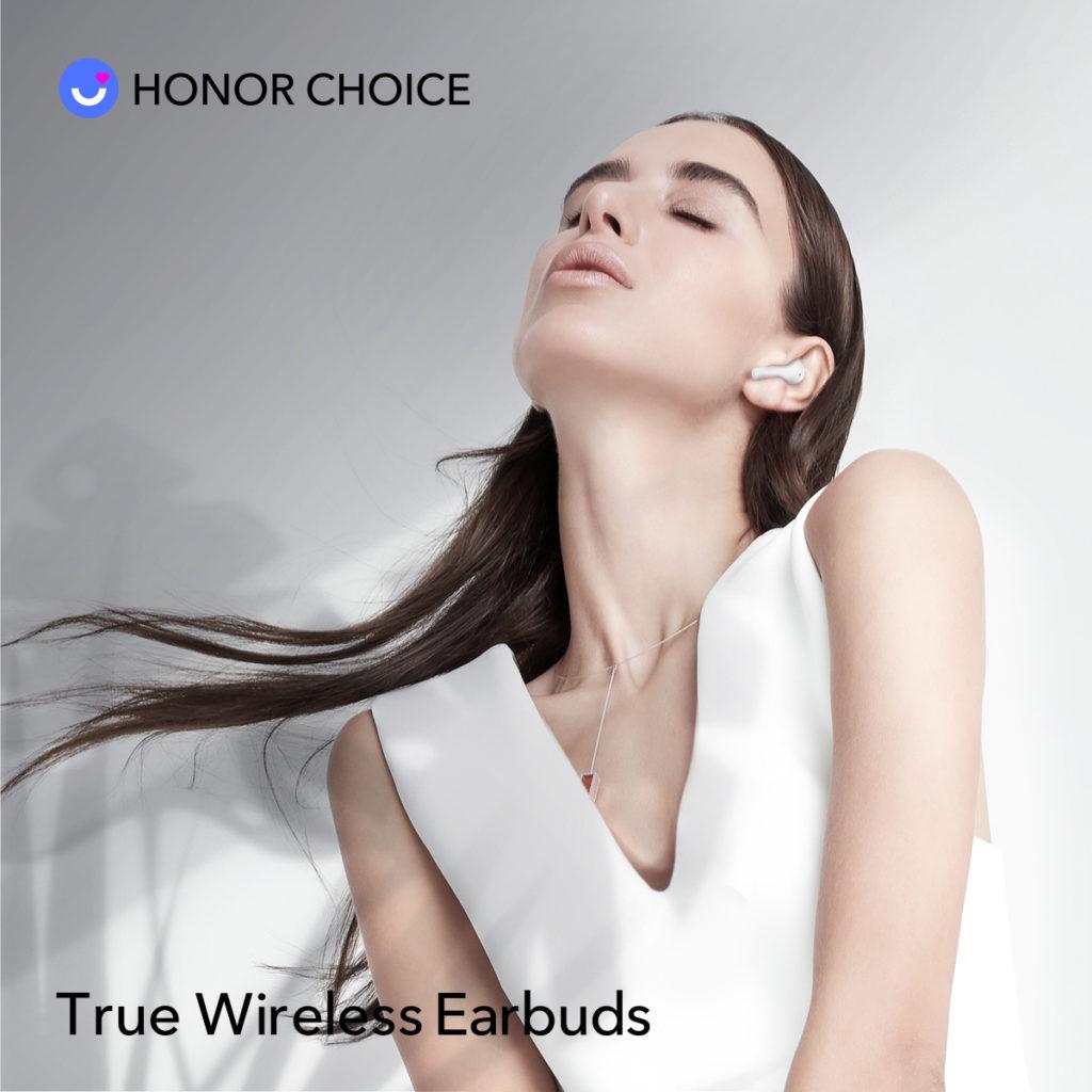 HONOR CHOICE True Wireless Earbuds už aj na Slovensku