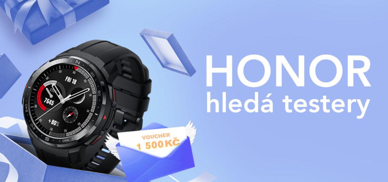 HONOR hledá testery pro hodinky Watch GS Pro