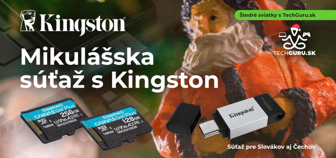 Mikulasska sutaz s Kingston