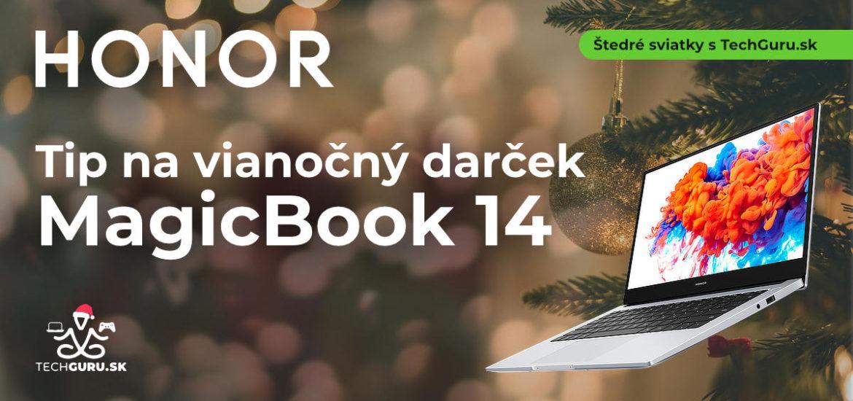 TIP na vianočný darček: HONOR MagicBook 14