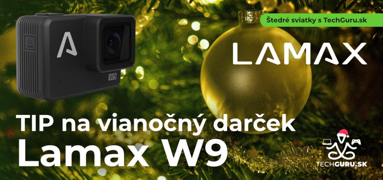 TIP na vánoční dárek: 4K akční kamera LAMAX W9