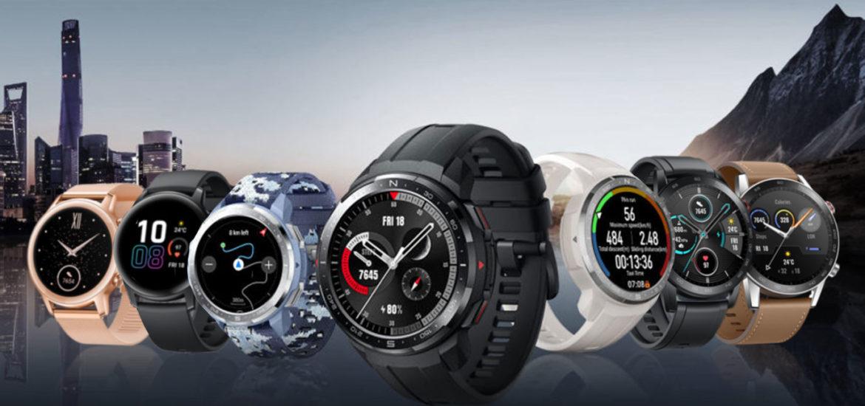 HONOR Watch GS Pro a MagicWatch 2 majú novinky