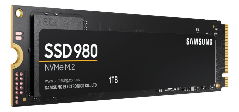 SSD Samsung 980 s NVMe je rychlý a cenově dostupný