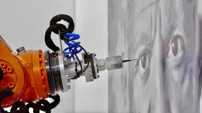 painting robot Umí již umělá inteligence malovat?
