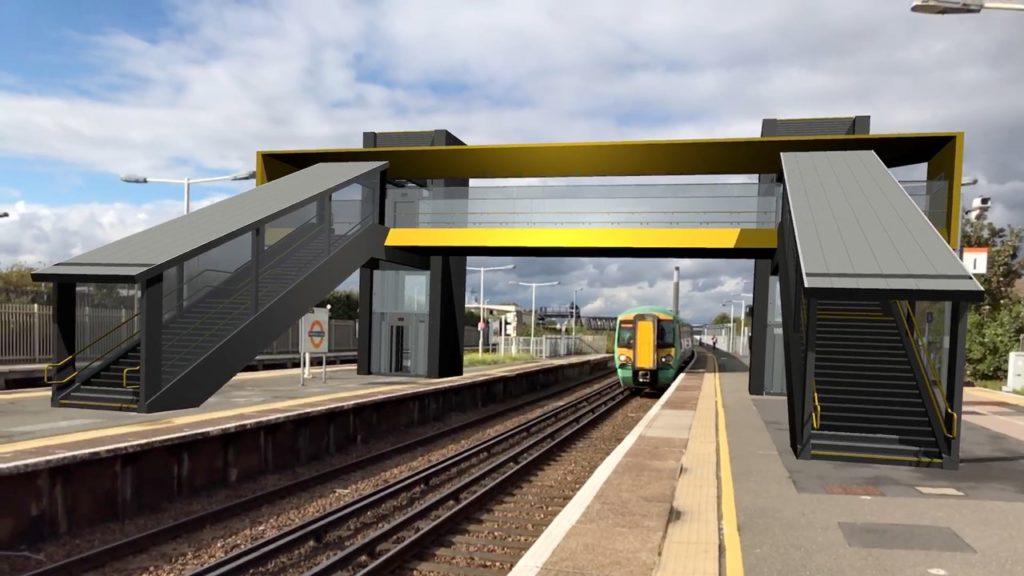 Footbridge app Změní rozšířená realita vlakovou dopravu?